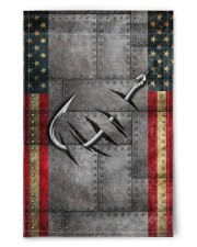 """Fishing America Flag  11.5""""x17.5"""" Garden Flag front"""