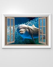 Dolphin Window View 36x24 Poster poster-landscape-36x24-lifestyle-02