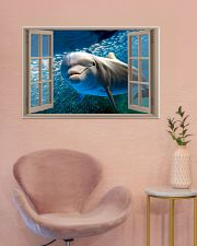 Dolphin Window View 36x24 Poster poster-landscape-36x24-lifestyle-19