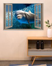 Dolphin Window View 36x24 Poster poster-landscape-36x24-lifestyle-22