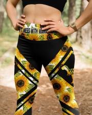 Mamasaurus Mother'S Day High Waist Leggings aos-high-waist-leggings-lifestyle-22