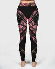 Reel Girls Fish 3D Pattern Print High Waist Leggings aos-high-waist-leggings-lifestyle-02