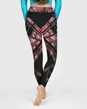Reel Girls Fish 3D Pattern Print High Waist Leggings aos-high-waist-leggings-lifestyle-06