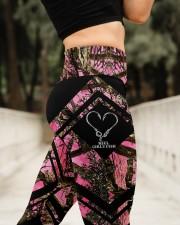 Reel Girls Fish 3D Pattern Print High Waist Leggings aos-high-waist-leggings-lifestyle-11