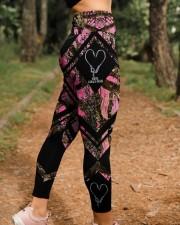 Reel Girls Fish 3D Pattern Print High Waist Leggings aos-high-waist-leggings-lifestyle-21