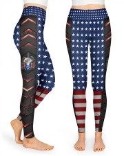 American Eagle Carbon Pattern High Waist Leggings front