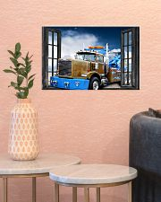 Tow Truck Window View  17x11 Poster poster-landscape-17x11-lifestyle-21