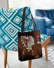 Love The Sea Leather Pattern Print All-over Tote aos-all-over-tote-lifestyle-front-01