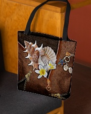 Love The Sea Leather Pattern Print All-over Tote aos-all-over-tote-lifestyle-front-02