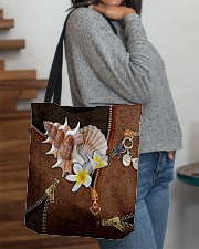Love The Sea Leather Pattern Print All-over Tote aos-all-over-tote-lifestyle-front-09
