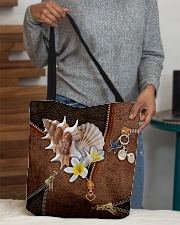 Love The Sea Leather Pattern Print All-over Tote aos-all-over-tote-lifestyle-front-10