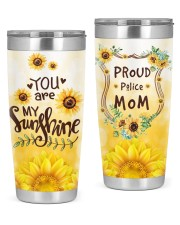 Proud Police Mom 20oz Tumbler front