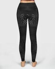 Cycling Chains 3D Pattern Print High Waist Leggings aos-high-waist-leggings-lifestyle-02