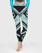 Lab Tech Leather Pattern Print High Waist Leggings aos-high-waist-leggings-lifestyle-06