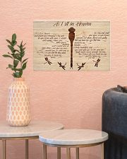 As I Sit In Heaven 17x11 Poster poster-landscape-17x11-lifestyle-21