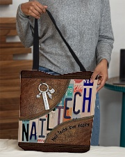 Nail Techs love inspire  All-over Tote aos-all-over-tote-lifestyle-front-10