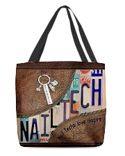 Nail Techs love inspire  All-over Tote back