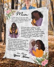"Mom Mother's Day  Fleece Blanket - 50"" x 60"" aos-coral-fleece-blanket-50x60-lifestyle-front-02c"