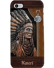 Custom Name Native Chief Pride Phone Case i-phone-8-case