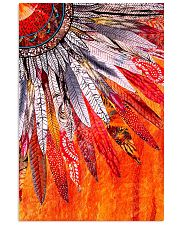 Native American Orange Feather 11x17 Poster front
