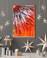 Native American Orange Feather 11x17 Poster lifestyle-holiday-poster-1