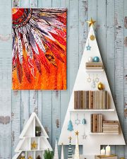 Native American Orange Feather 11x17 Poster lifestyle-holiday-poster-2