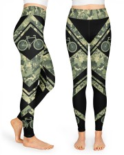 Cycling Camouflage High Waist Leggings front