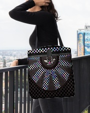 Racing Girl Leather All-over Tote aos-all-over-tote-lifestyle-front-05