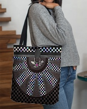 Racing Girl Leather All-over Tote aos-all-over-tote-lifestyle-front-09