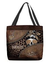 Skull Bad Moms Club All-over Tote back