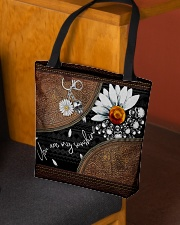 Daisy Skull You Are My Sunshine All-Over All-over Tote aos-all-over-tote-lifestyle-front-02
