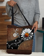Daisy Skull You Are My Sunshine All-Over All-over Tote aos-all-over-tote-lifestyle-front-10