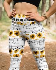 You Are My Sunshine High Waist Leggings aos-high-waist-leggings-lifestyle-22