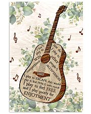 Guitar Enjoyment I Don't Play To Win  11x17 Poster front