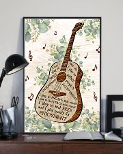 Guitar Enjoyment I Don't Play To Win  11x17 Poster lifestyle-poster-2
