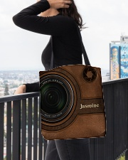 Personalized Camera Lens Printed All-over Tote aos-all-over-tote-lifestyle-front-05