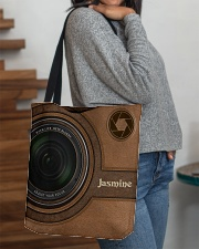 Personalized Camera Lens Printed All-over Tote aos-all-over-tote-lifestyle-front-09