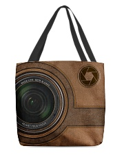 Personalized Camera Lens Printed All-over Tote back