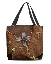 Jesus Cross Forgiven  All-over Tote back