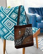 Zero F Given Leather Pattern Print All-over Tote aos-all-over-tote-lifestyle-front-01