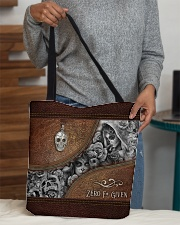 Zero F Given Leather Pattern Print All-over Tote aos-all-over-tote-lifestyle-front-10