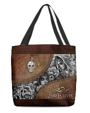 Zero F Given Leather Pattern Print All-over Tote front