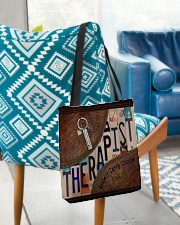 Therapist Respect Caring Courage All-over Tote aos-all-over-tote-lifestyle-front-01