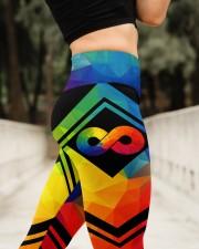 Autism Acceptance High Waist Leggings aos-high-waist-leggings-lifestyle-11