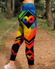 Autism Acceptance High Waist Leggings aos-high-waist-leggings-lifestyle-21