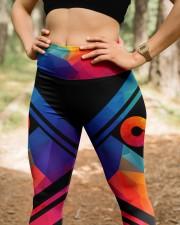 Autism Acceptance High Waist Leggings aos-high-waist-leggings-lifestyle-22