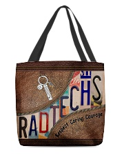 Rad Tech Leather pattern print All-over Tote front