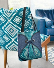 Sea Lover Jeans Pattern Print All-over Tote aos-all-over-tote-lifestyle-front-01