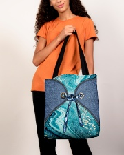 Sea Lover Jeans Pattern Print All-over Tote aos-all-over-tote-lifestyle-front-06