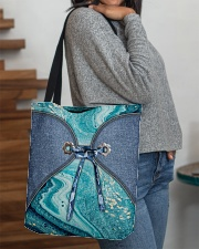 Sea Lover Jeans Pattern Print All-over Tote aos-all-over-tote-lifestyle-front-09